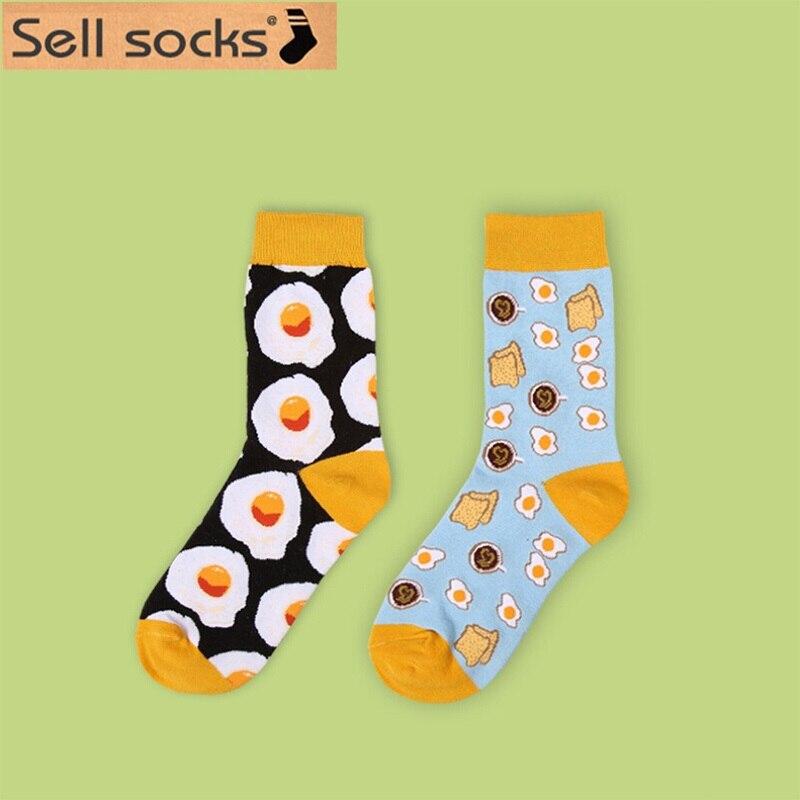 New  Autumn Winter Dessert Food Creative Pattern High Quality Cotton Women Socks Fashin Sock Long EUR 35-40 1344