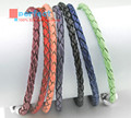 Leather bracelets Wholesale With 925 sterling silver Clasp Fits pandora Charms Beads DIY gift for women fine jewelry