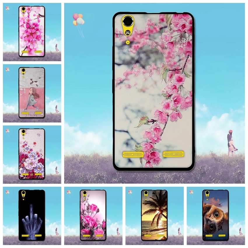Cases for Lenovo K3 A6000 Luxury Painting Back Cover A 6000 Phone Shell Silicon TPU Bag Fashion for Lenovo K3 A6010 Soft Covers