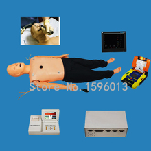 Four-in-One ACLS Training Manikin with Intubation, CPR Manikin,Defibrillation, Pacing and IV Placement