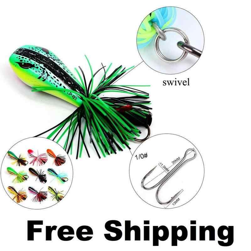 1pcs Soft Small Jump Frog Enticement Lure Bait 90mm Silicone Bait For bass lure kit Jump Frog Lure Crankbait Tackle Fishing Tool