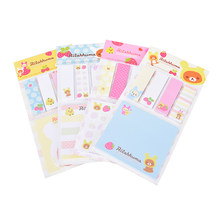 Korea Briefpapier Rilakkuma Leuke Cartoon Beer Memoblokjes Post Memo Pad Schoolbenodigdheden Planner Stickers Papier Bladwijzers(China)