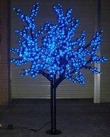 Vender Navidad Año Nuevo boda decoración LED Cerezo flor árbol 864 piezas azul Rojo morado blanco bombillas