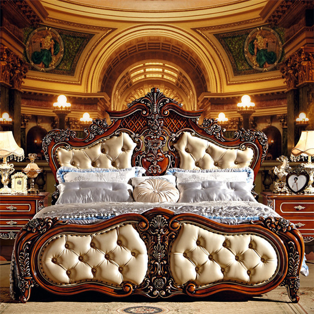 Hot Sale Classic Italian Bedroom Set Hotel Classical Bedroom Set