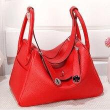 купить Luxury Brand Women Bags Genuine Leather Fashion Crossboby Bag Design Ladies Shoulder Bag Female Handbag Girl Gift Bolsa Feminina по цене 5926.29 рублей