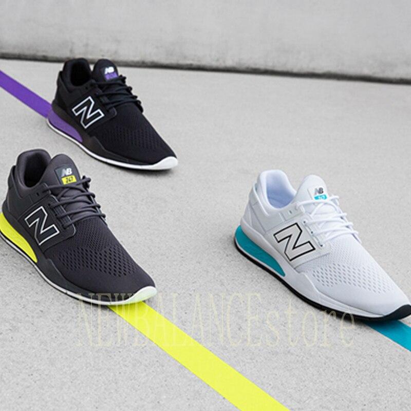 2019NEW BALANCE 247 rétro authentique hommes/femmes chaussures de course, nouvelles couleurs MS247TT baskets d'extérieur zapatillas mujer 574 998 997