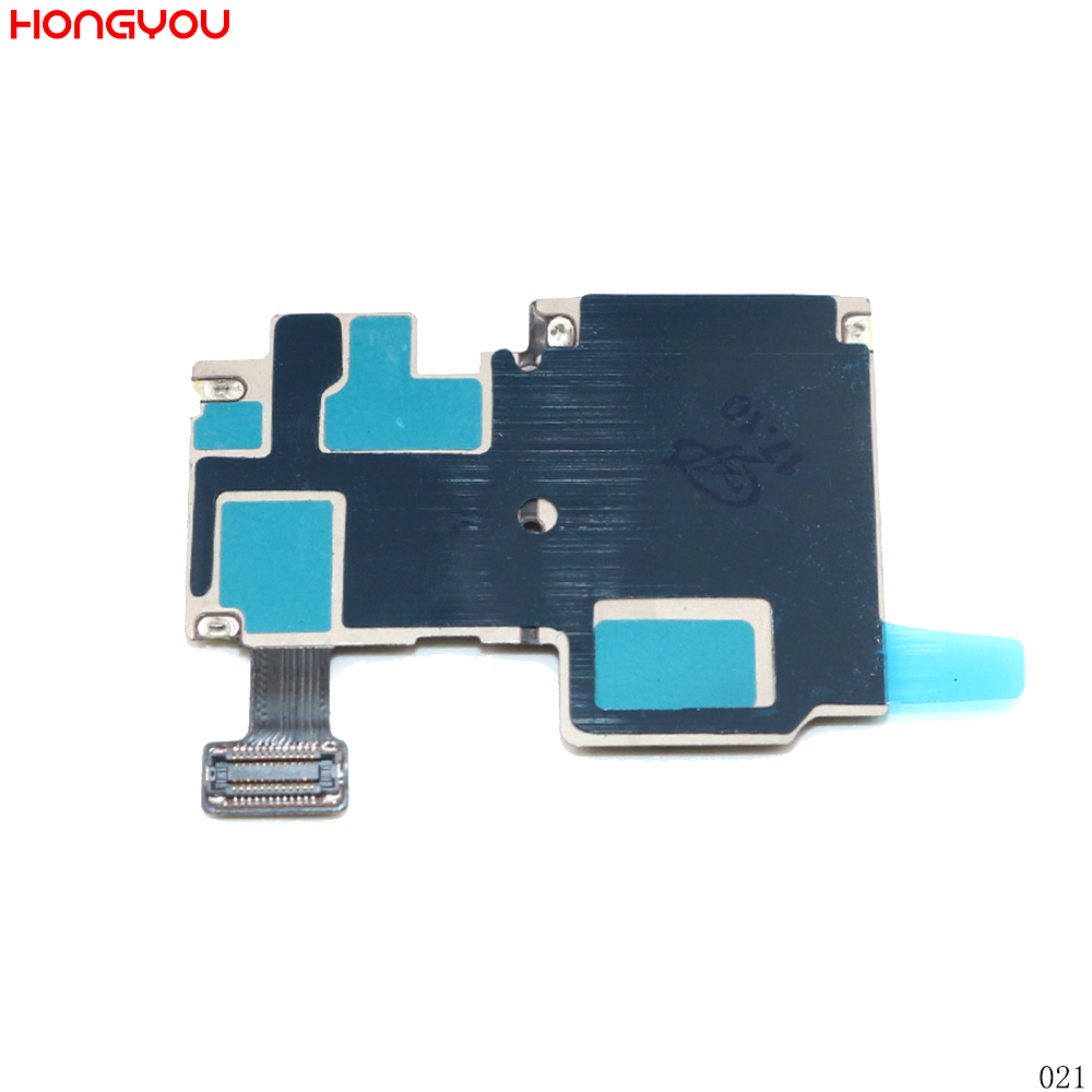 10PCS/Lot SIM Card Tray & Memory SD Card Holder Flex Cable For Samsung Galaxy S4 S IV I9500