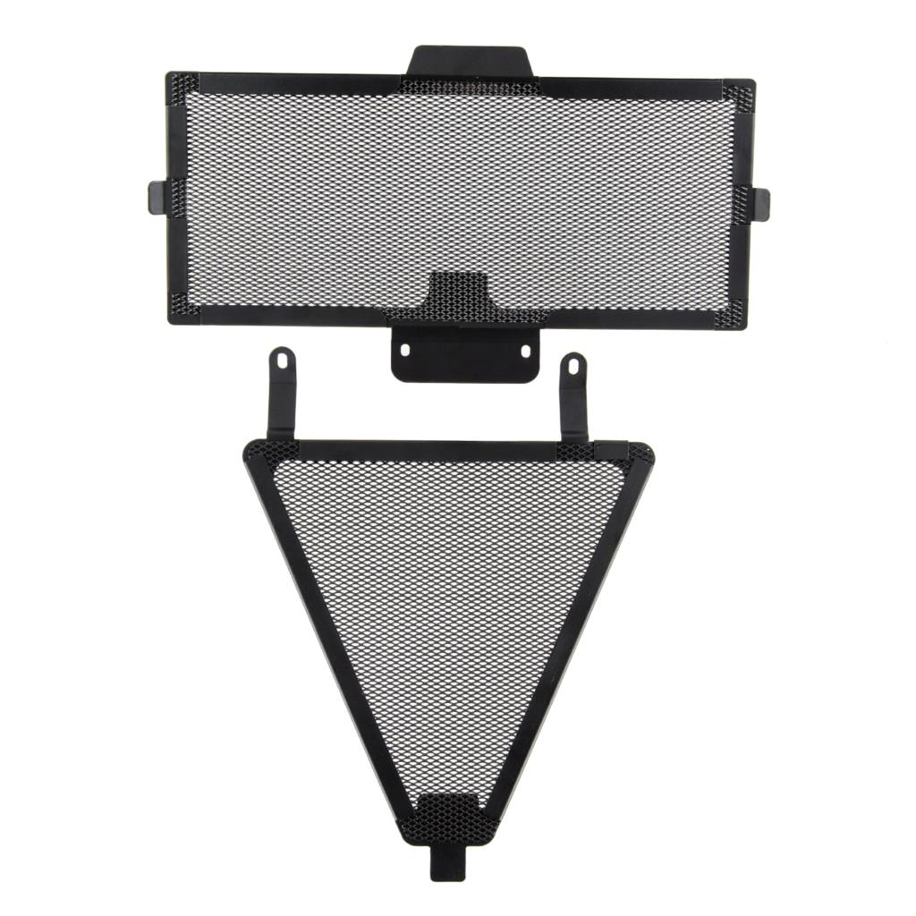 Fittings Front Radiator Grille Guard Oil Cooler Grill Cover ...