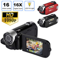 16MP 2.7 inch TFT LCD HD 1080P 16X Digital Zoom Camcorder Video DV Camerar 16 million camera pixels 1080P HD video Z527