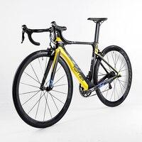 NEW HOT 22 Speed 700C Carbon Complete Road Bike 3k Carbon Groupset Wheels Bicicleta OG EVKIN