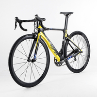 NEW HOT 22 Speed 700C Carbon Complete Road Bike 3k Carbon Groupset Wheels Bicicleta Colorful Full