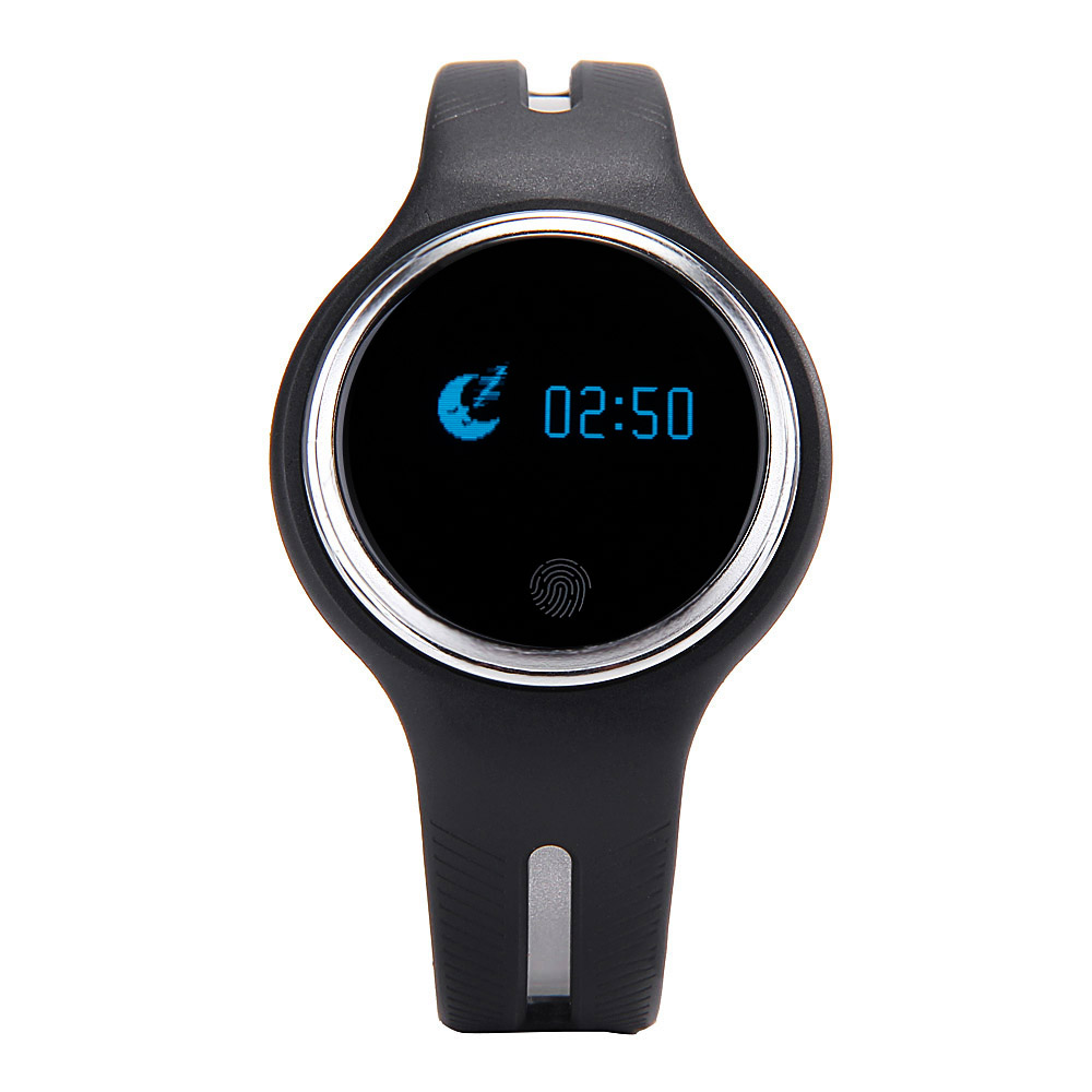 E07 Waterproof Bluetooth font b Smart b font Wristband Passometer Fitness Tracker Sync Bracelet for Android