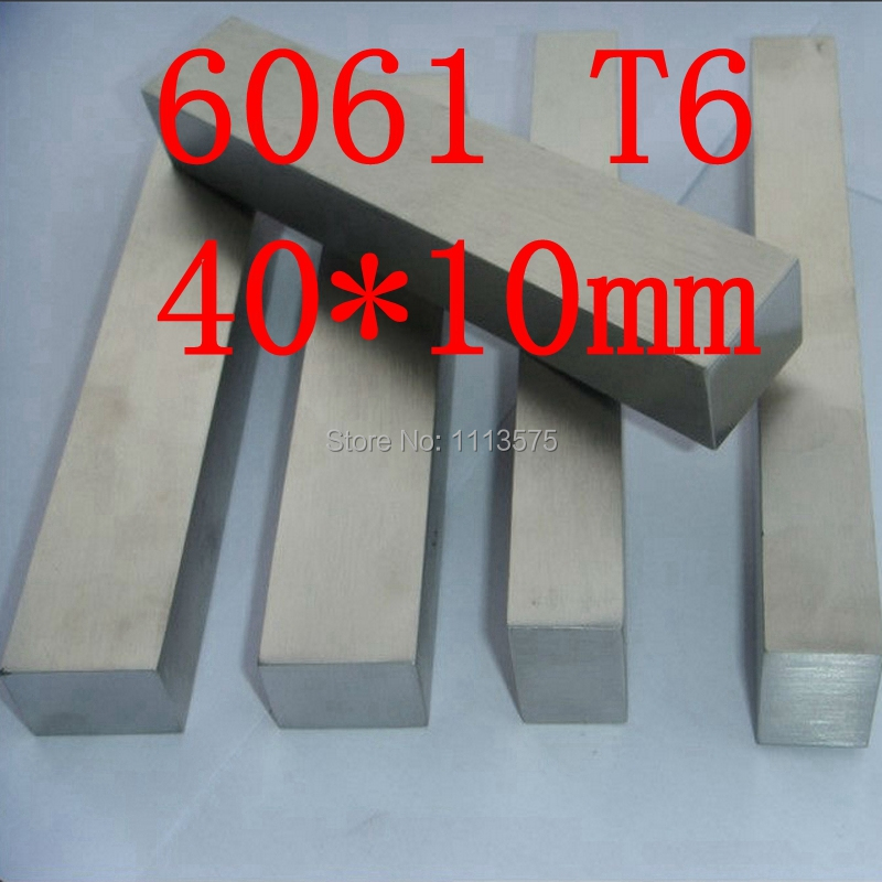 40mm x 10mm Aluminium Flat Bar,40*10mm,width 40mm,thickness 10mm,6061 T6 80mm x 30mm aluminium flat rectangular bar 80 30mm width 80mm thickness 30mm 6061 t6
