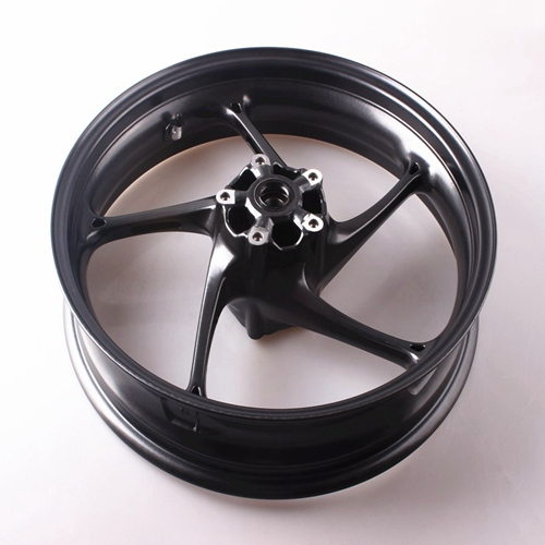 For Triumph Front Wheel Rim Daytona 675R 2013+ Street Triple R 2013 2014 High Quality Aluminum Alloy Black Motorcycle Accessory (5)