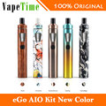 Nuevo joyetech ego vape kit aio 1500 mah 2 ml e-jugo capacidad todo-en-un kit cigarrillo electrónico vaporizador original vs ijust s