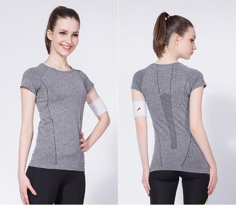 Buy workout sports t shirt women fitness for Workout shirt for women