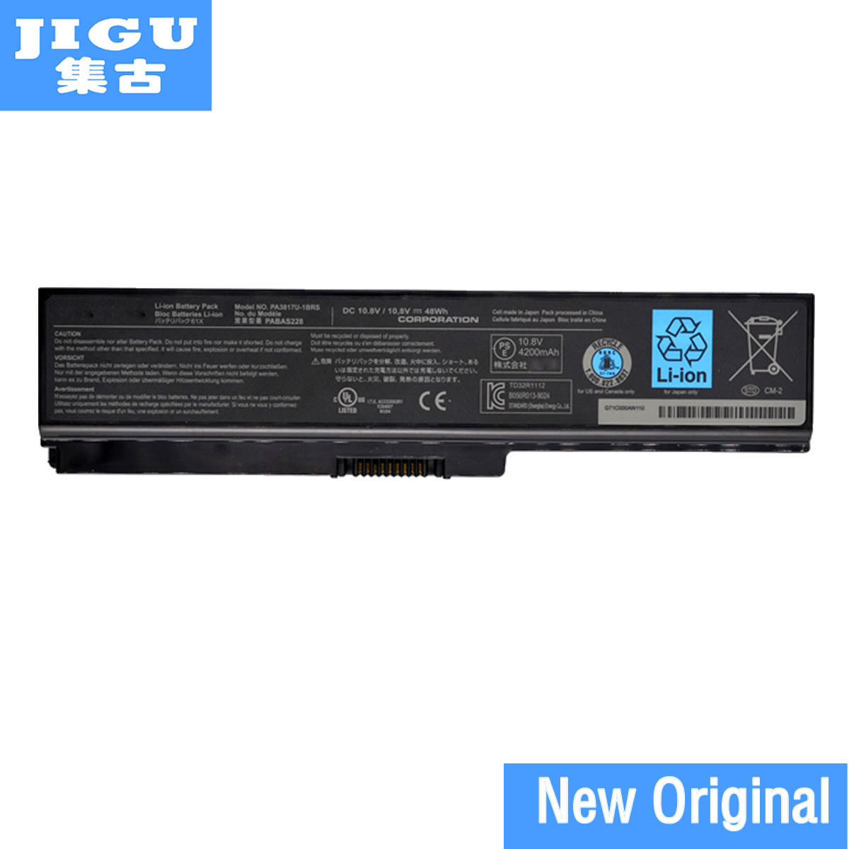 JIGU Original Battery For Toshiba PA3817U-1BRS PA3817 PA3818U-1BRS PA3817U For Satellite L745 L740 L655 L750 L750D L755 L630