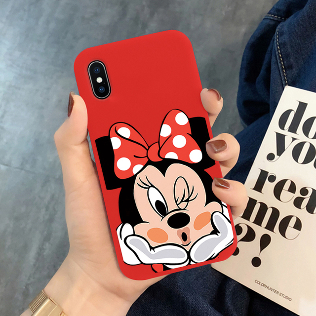 Cartoon Cute Print Soft TPU Cases For iPhone