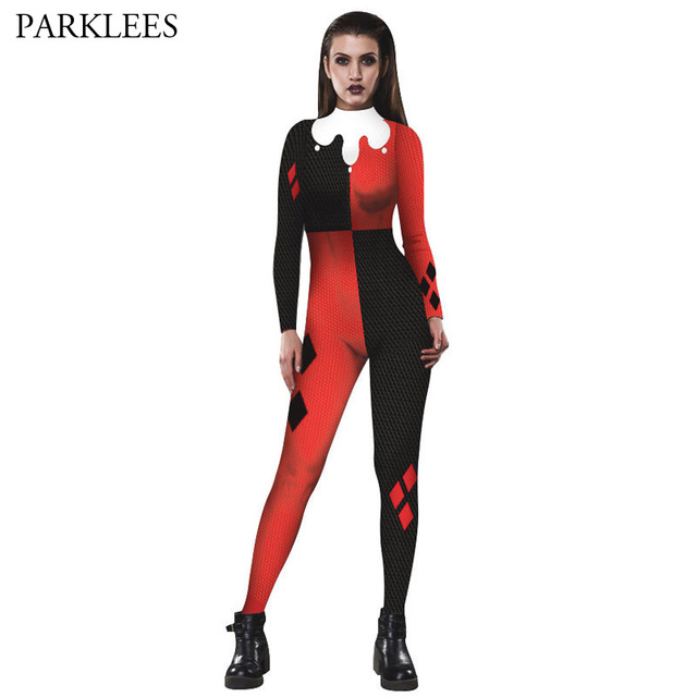 Halloween Costume Men Women 2017 Long Sleeve Turtleneck Women Jumpsuits Rompers Back Zipper Sexy Halloween Clown Sc 1 St AliExpress.com  sc 1 st  Germanpascual.Com & Great Halloween Costumes Men u0026 When You And Your Two Hulkamaniac ...