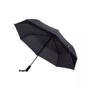 Image 2 - YouPin WD1 자동 비오는 우산 맑은 비오는 여름 알루미늄 방풍 방수 UV 파라솔 양산 남자 여자 사용