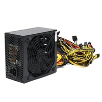 1600W Modular Power Supply For 6 GPU Eth Rig Ethereum Coin Mining Miner Machines High Quality