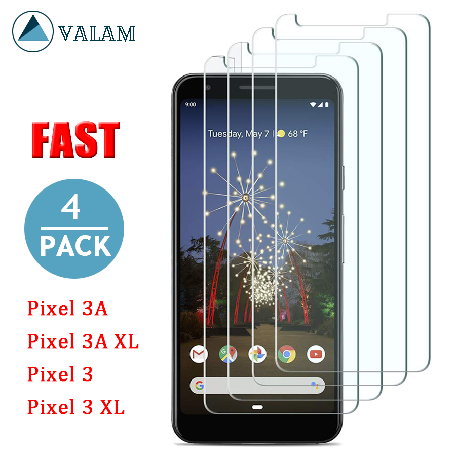 VALAM For Google Pixel 3A Tempered Glass Cover Full Body XL Screen Protector 3