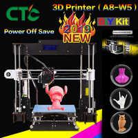 CTC A8 i3 Impresora Imprimante 3D haute précision Imprimante 3D bricolage