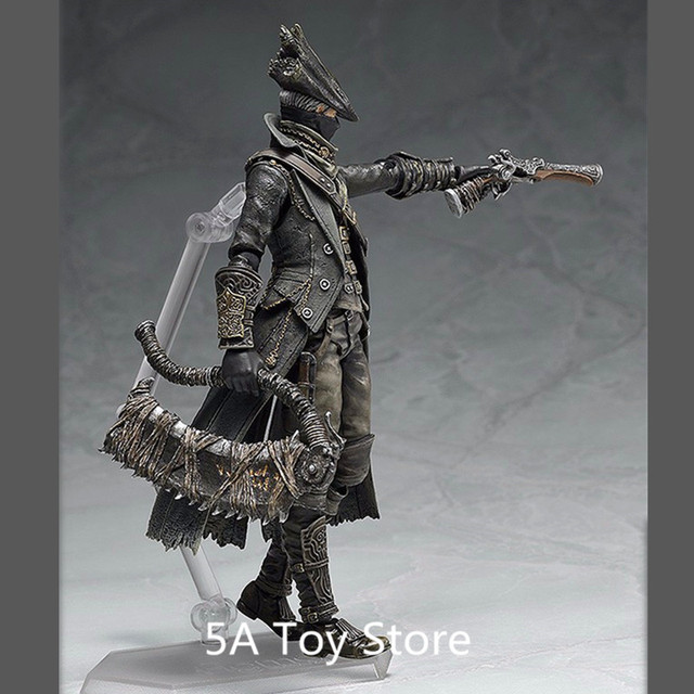 PS4 Bloodborne Games Figure Hunter Figma 367 PVC Action Figure Model Collection Toy Doll Gifts 15CM 2