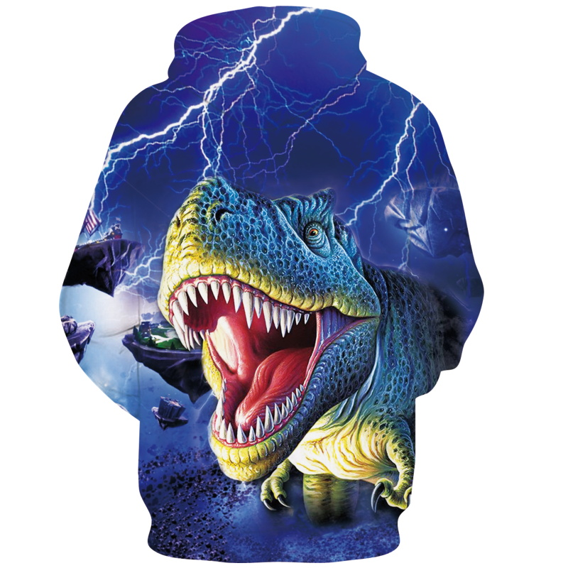 Men's Clothing New Fashion Dinosaur Lion Tiger Alpaca Sloth Galaxy Men Hoodies Sweatshirts 3d Print Sweatshirts Cap Tops Men Hooded Nebula Jacket Dropship