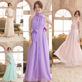 New bridesmaid dresses women's neck hung off-the-shoulder sexy loose long gown bridesmaid Dresses