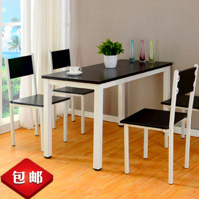 Household Desk Study Tables Restaurant Hotel Dining Table Computer Combination Rectangular Shipping