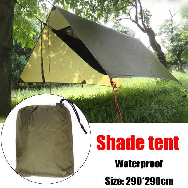 Waterproof Lightweight Camping Awning Tarp Tent Sun Shade Hammock Shelter Sleeping Outdoor In From Sports Entertainment On