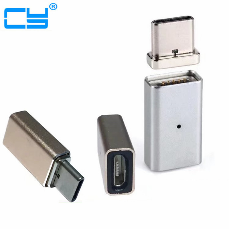 Type-C Magnetic Adapter Micro USB Female to Type C Male Charger Converter usb to fast ethernet adapter где