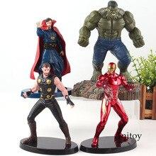 Marvel Infinity War Avengers 3 Iron Man Doctor Strange Hulk Thor Hot Toys PVC Action Figures Collection Model Toy Gift