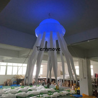 LED lighting inflatable Jellyfish seajelly 2 meters customized hanging decorative Jellyfish for inflatable toys