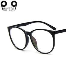 BOYEDA Nova Moda Vidros Ópticos Mulheres Grandes Óculos de Armação de óculos  Ópticos Homens Quentes Grau Clara Transparente Quad. 1c781e1617