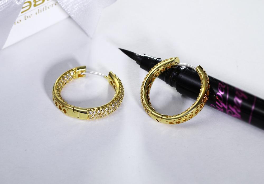 Circle Hoop Earring (3)