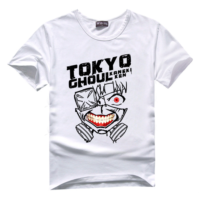 Tokyo Ghoul T-Shirt Kaneki Ken 10 Colors Anime T Shirt Men Women Tshirt Tee Gift