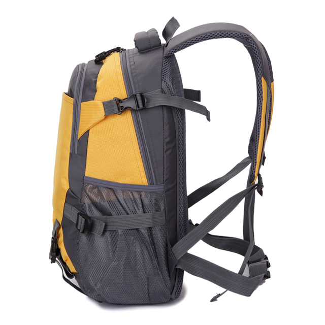 Waterproof Nylon Backpack Men Travel Multifunction Bags Male Laptop