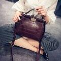 Crossbody сумки для женщин Новых Корейских женщин сумка из кожи крокодила мини cat сумка сумочка сак главная femme de марка