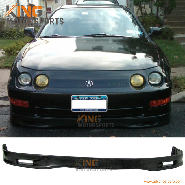 For Acura Integra SPOON Style Front Bumper Lip Spoiler - 1997 acura integra front bumper