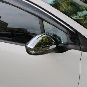 Image 5 - Jameoオートabsクローム車のリアビューミラー保護カバーバックミラーステッカー用プジョー208 2014 2017アクセサリー