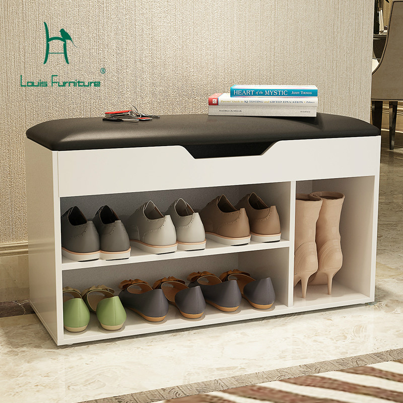 Louis Fashion Shoe Cabinets Multifunctional Shoe Storage Cabinets Simple Modern Sofa Shoe Cabinets Household Shoe Cabinets