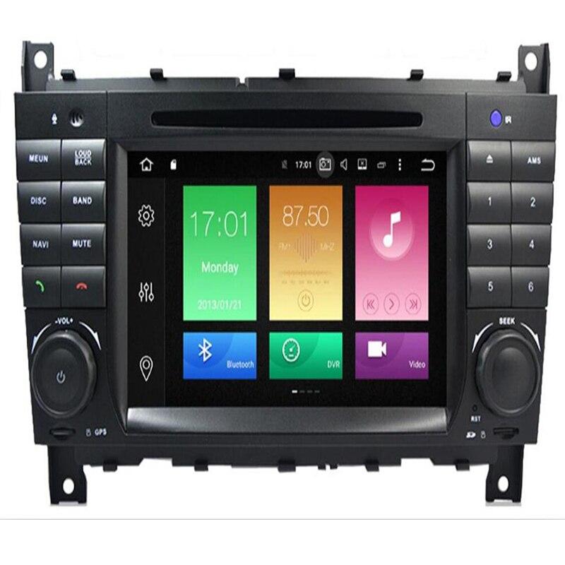 2019 Android 9.0 Octa Core PX5 pour Mercedes/Benz W203 W209 W219 classe A A160 classe C C180 C200 lecteur multimédia de voiture lecteur DVD
