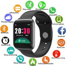 Unisex Health Wristband Fitness Watch Smart 2019 Heart Rate Monitor Men Sports Watches Blood Pressure Pedometer Digital Bracelet