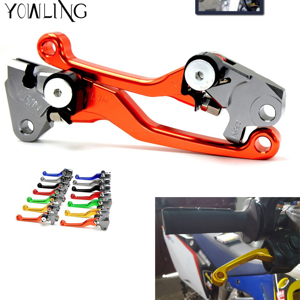 Foldable Pivot Brake Clutch Lever For ktm EXC EXCF EXCR XC XCF XCW XCFW SX SXF SIX DAYS all year Dirt Bike Motocross Enduro cnc stunt clutch lever easy pull cable system for ktm exc excf xc xcf xcw xcfw mx egs sx sxf sxs smr 50 65 85 125 150 200 250