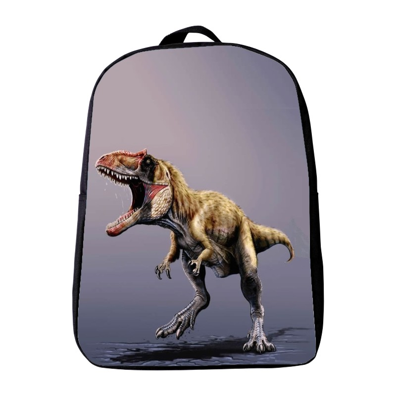 New Style 12 Inches Printing Dinosaur Animal Kids Baby School Bags Kindergarten Small Backpack Mini Schoolbag for Children Gift 2017 new children school backpacks small 3d animal monkey backpack baby toddler backpack kids kindergarten schoolbag for boys