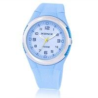 Hot XONIX Fashion Women Dress Watches Waterproof 100m Ladies Jelly Quartz LED Watch Swimming Diving Reloj
