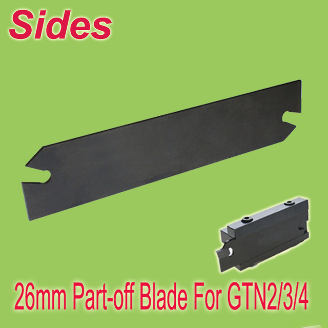 Free Shiping  SPB 2/3/4-26 Indexable Parting Blade 26mm High Suit For SMBB1626/2026/2526 Used GTN/SP-200/300/400 Inserts