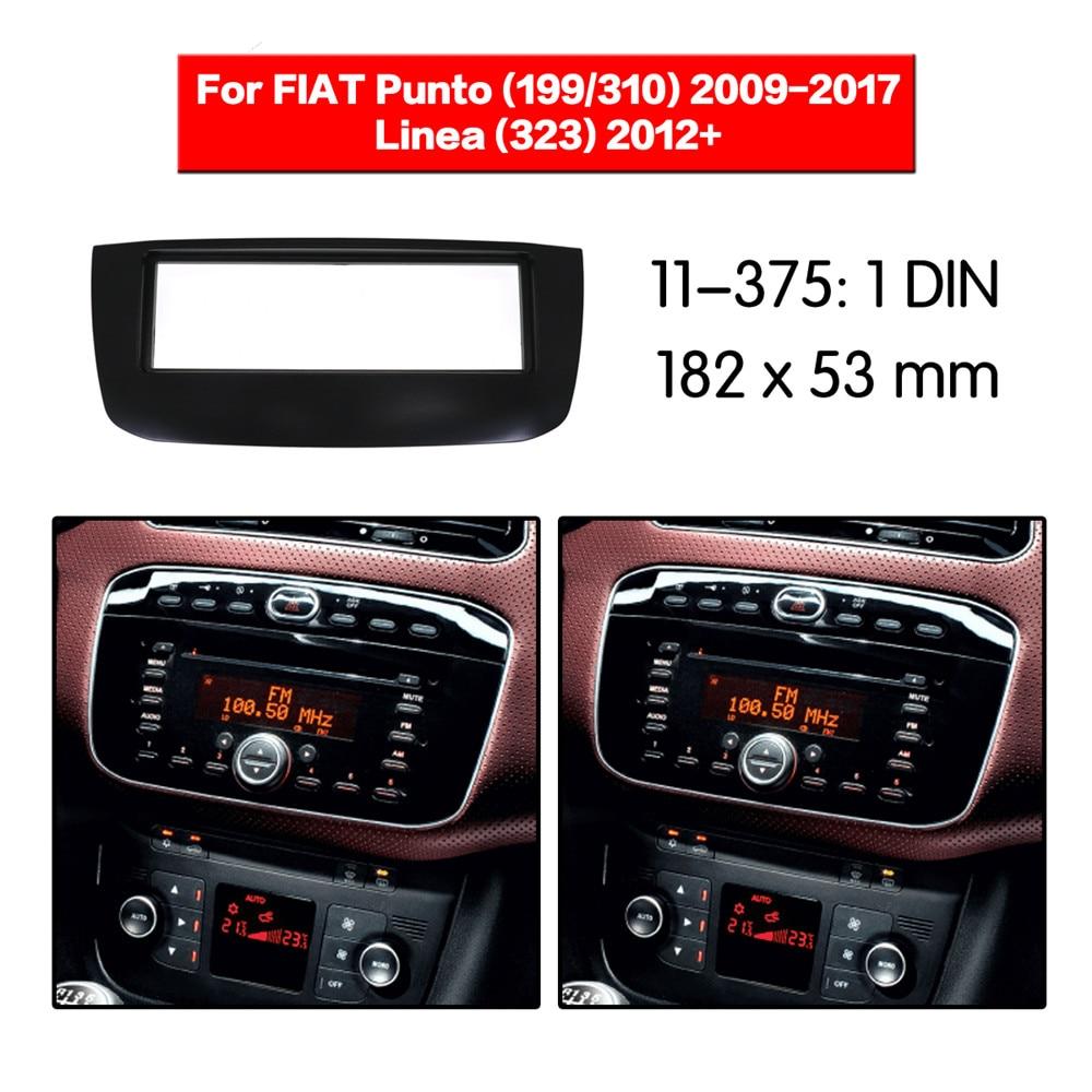Wonderbaarlijk Car Radio Dash Panel Frame Fitting Kit for FIAT Punto 2009+ Linea GA-63